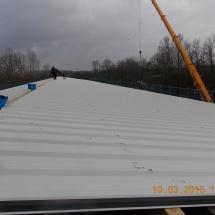 3.100 qm Fertiggestellte-Sanierte Dachfläche in Braunschweig Hafenstraße 46.